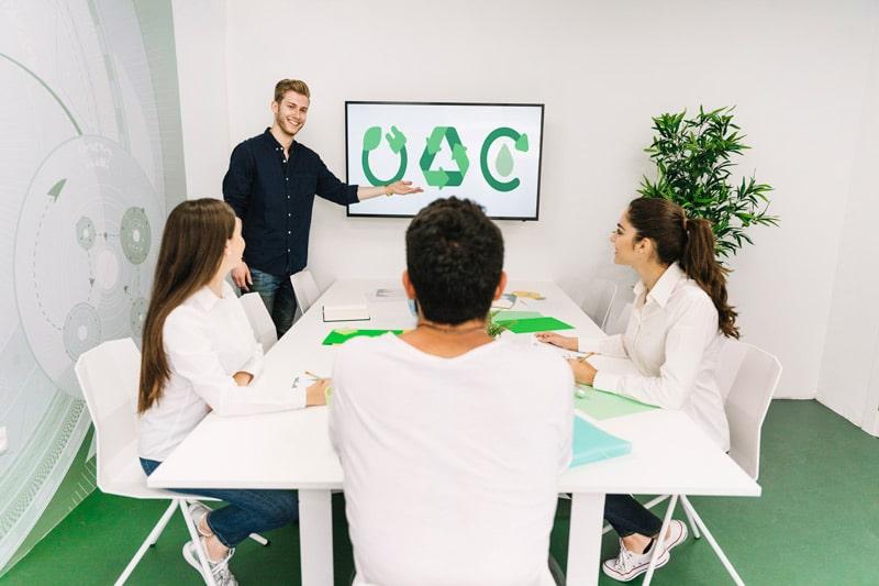 Eco design in ufficio