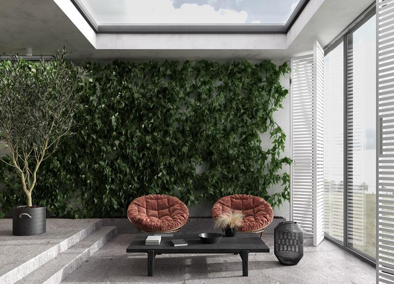 Arredamento sostenibile per una casa green