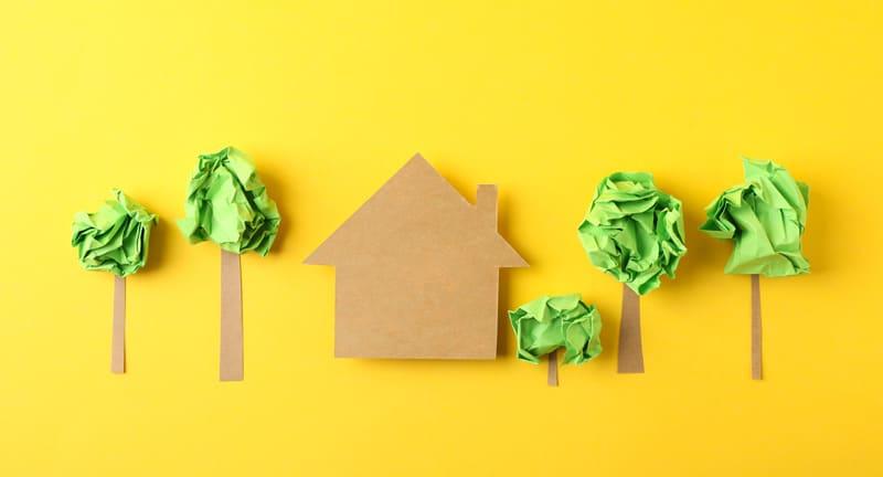 La casa di cartone: soluzioni per un'edilizia sostenibile